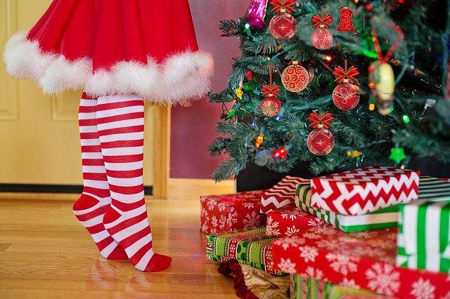 クリスマスツリーの下にプレゼントを置いておけばいい?